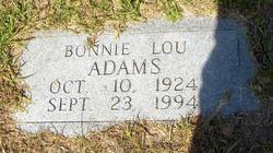 Bonnie Lou Adams