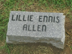 Lillie <i>Ennis</i> Allen
