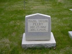 Hazel <i>Taylor</i> Peery