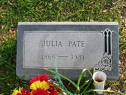 Julia <i>Jones</i> Pate