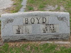 Ovie Calpurnia <i>Burnett</i> Boyd