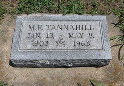 M. E. Tannahill