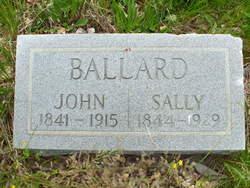 Sarah Ann Sally <i>Gibson</i> Wooldridge-Ballard