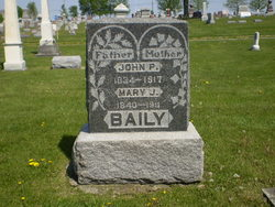 Mary J <i>North</i> Bailey