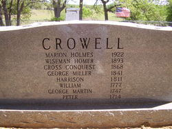 Marion Holmes Crowell