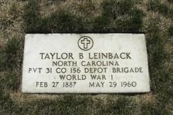 Taylor B. Leinback