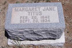 Margaret Jane <i>Fleharty</i> Titus