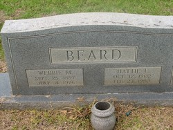 Hattie Lee <i>Morgan</i> Beard