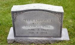 Clara <i>Earp</i> Cole