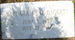 Barbara June <i>Bagwell</i> Baggett