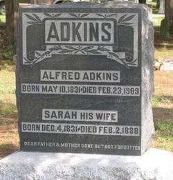 Sarah <i>Schoonover</i> Adkins