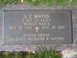 Sgt L C Mayes