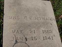 Mrs Georgia E. <i>Taylor</i> Howard