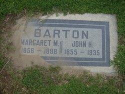 Margaret M. Maggie <i>Garner</i> Barton
