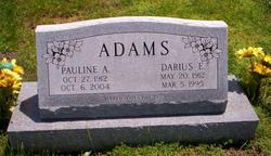 Pauline Addie <i>Alexander</i> Adams