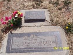 Golda Elaine <i>Cannon</i> Bergman