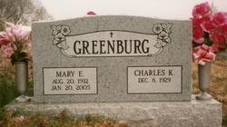Mary E <i>Moore</i> Greenburg