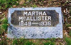 Martha Ellen <i>Collins</i> McAllister