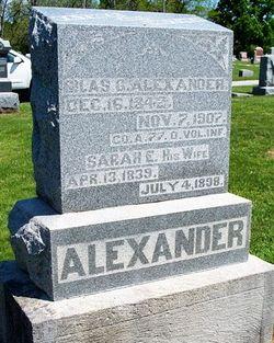 Sarah E. <i>Cathel</i> Alexander
