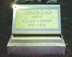 Josephine A <i>Wilt</i> Brown