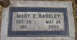 Mary E. Barkley