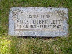 Alice M. Bartlett