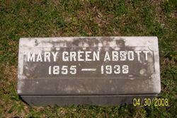 Mary <i>Green</i> Abbott