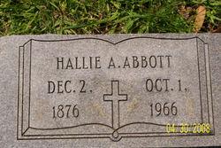 Hallie <i>Abbott</i> Abbott