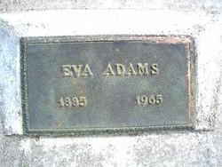 Eva <i>Dawson</i> Adams