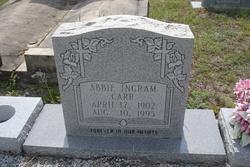 Abbie <i>Ingram</i> Carr