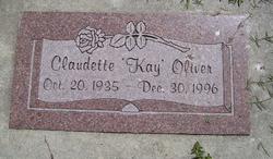 Claudette Kay <i>Smith</i> Oliver