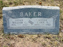 Cora Ann <i>Hargis</i> Baker