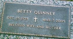 Bertha Vey Betty <i>Watkins</i> Quinney