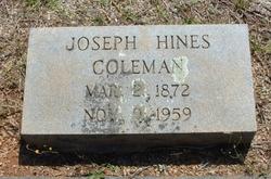 Joseph Hines Coleman