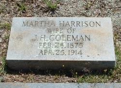 Martha <i>Harrison</i> Coleman