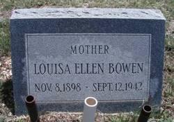 Louisa Ellen <i>Ackley</i> Bowen