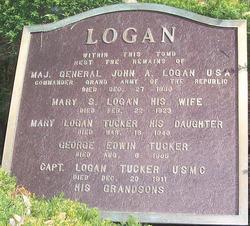 Mary <i>Logan</i> Tucker