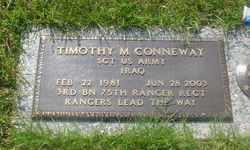 Sgt Timothy Michael Conneway