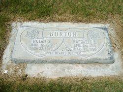 Margaret Audrey <i>Eldredge</i> Burton