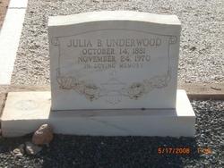 Julia Boone Julie <i>Kennedy</i> Underwood