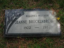 Jeanne <i>Cartwright</i> Brockenbrough