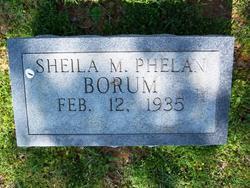 Sheila <i>Phelan</i> Borum