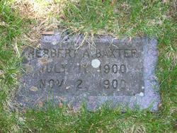 Herbert A Baxter
