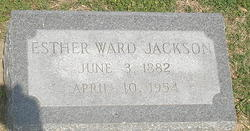 Esther <i>Ward</i> Jackson
