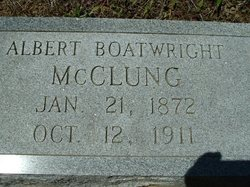 Albert Boatwright McClung