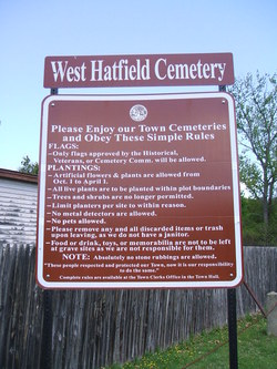 West Hatfield Cemetery