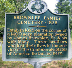Brownlee Family Cemetery