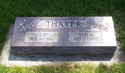 Tinnie Belle <i>Van Matre</i> Thayer