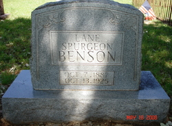Lane Spurgeon Benson