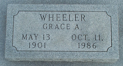 Grace Anna <i>Hopkins</i> Wheeler